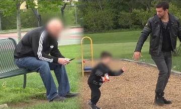 Πείραμα: Κι όμως απαγάγουν παιδί μπροστά από τα μάτια του πατέρα (vid)