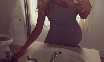 «Η εγκυμοσύνη δεν είναι εύκολη υπόθεση», η εξομολόγηση και η φώτο πριν τον τοκετό