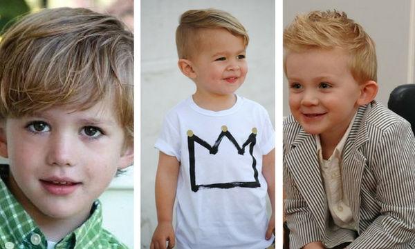 Μοντέρνα παιδικά κουρέματα και χτενίσματα για αγόρια