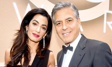Amal- G.Clooney: Τι σημαίνουν τα ονόματα «Ella» και «Alexander» που επέλεξαν για τα δίδυμα