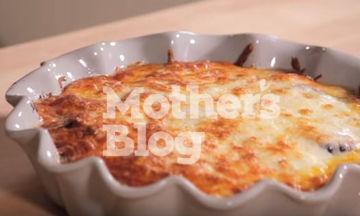 Μελιτζάνες στο φούρνο με κρούστα τυριών