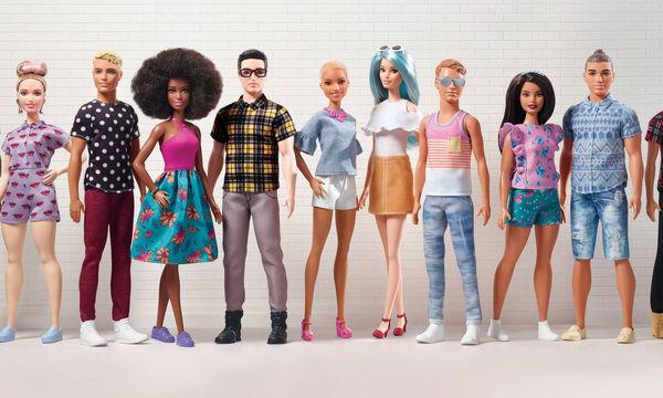 Η Barbie επεκτείνει τη σειρά Fashionistas και μας συστήνει τις νέες κούκλες Ken