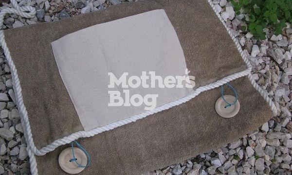 Φτιάξτε μόνη σας μια υπέροχη τσάντα παραλίας που είναι ταυτόχρονα και πετσέτα