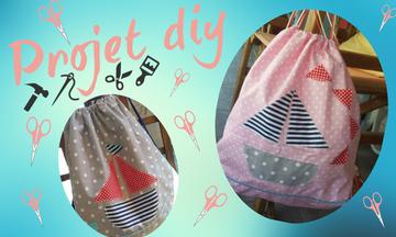 DIY: Καλοκαιρινό σακίδιο πλάτης για παιδιά
