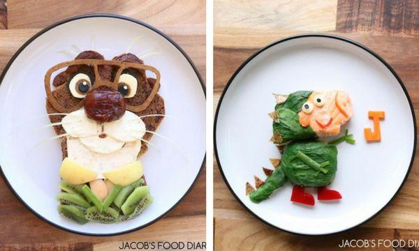 Για να τρώει ο γιος της υγιεινά, μετατρέπει τα γεύματα σε αγαπημένους του ήρωες