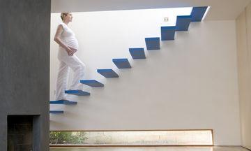 Είναι ασφαλές να χρησιμοποιώ σκάλες ενώ είμαι έγκυος;