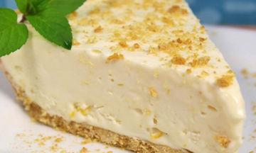 Εύκολη λεμονόπιτα με τυρί κρέμα