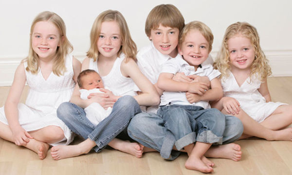 Έξι λόγοι που αισθάνομαι τυχερή που έχω έξι παιδιά