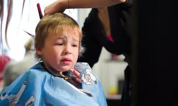 Επιχείρηση κούρεμα παιδιού: Πώς θα γίνει ανώδυνα