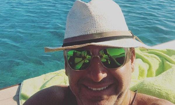 Γιάννης και Δημήτρης Λιάγκας: Η φωτογραφία στο σκάφος και το σχόλιο του μπαμπά