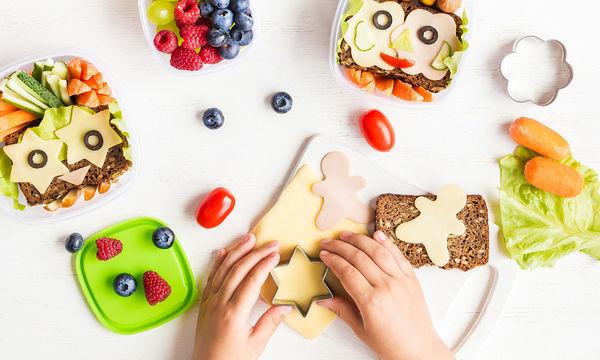 Νόστιμα και υγιεινά snacks για το σχολείο!