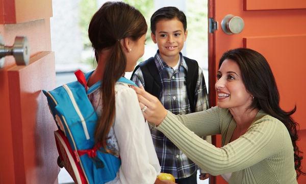 Απλές ιδέες για να μην τρέχετε τελευταία στιγμή να προλάβετε το κουδούνι του σχολείου
