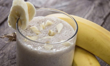 Smoothie μπανάνα - μέλι: Μία εναλλακτική πρόταση για υγιεινό παιδικό πρωινό