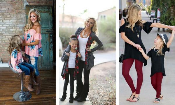 Φθινοπωρινή μόδα για μαμά και κόρη - Πάρτε ιδέες για ασορτί εμφανίσεις
