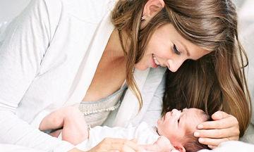 «Είμαι μια κανονική μαμά και είμαι ευτυχισμένη γ'αυτό»
