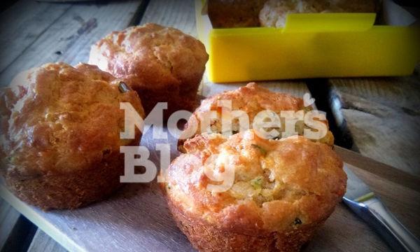 Κολατσιό για το σχολείο: Αλμυρά muffins με κολοκυθάκι και καρότο