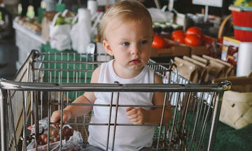Απολαύστε με τα παιδιά σας τις βόλτες στο σούπερ μάρκετ