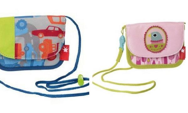 Παιδικά πορτοφολάκια σε διάφορα σχέδια και χρώματα