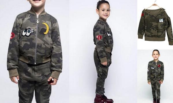 Military look, διαλέξτε το ακόμη και για την κόρη σας