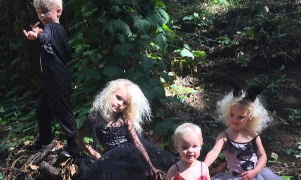 To Hollywood γιορτάζει το Halloween! Οι στολές που έχουν φορέσει μέχρι στιγμής παιδιά και γονείς