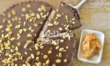 Τάρτα σοκολάτα με φυστικοβούτυρο από τον Γιώργο Γεράρδο