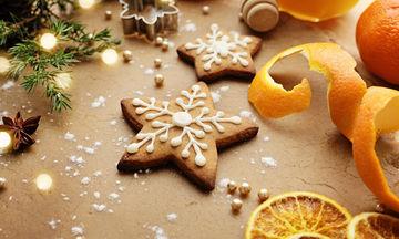 Χριστουγεννιάτικα μπισκότα με πορτοκάλι και κανέλα χωρίς αβγά και γάλα!