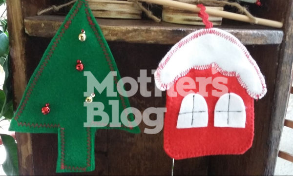 DIY: Φτιάξτε εύκολα χριστουγεννιάτικα στολίδια με τσόχα