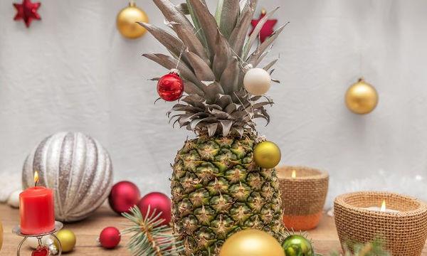 Ο ανανάς είναι το νέο χριστουγεννιάτικο δέντρο - Στολίστε τον (pics)