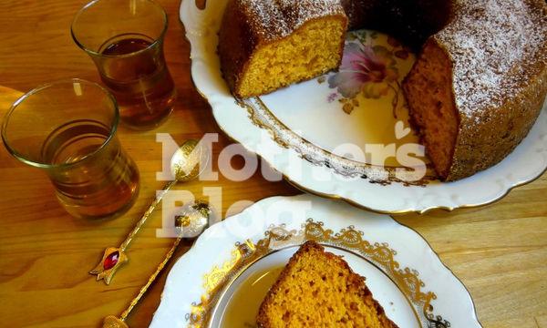 Νηστίσιμο κέικ πορτοκάλι με 5 υλικά