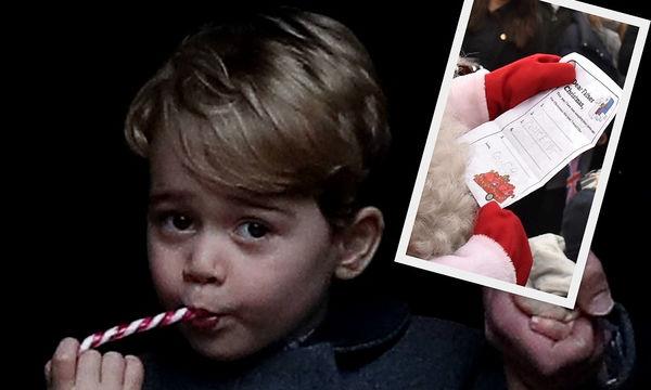 Αυτό είναι το δώρο που ζήτησε ο Πρίγκιπας Geogre από τον Άγιο Βασίλη (pics)