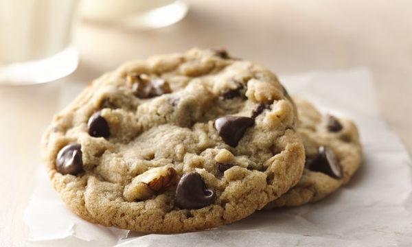 Νηστίσιμα μπισκότα με σοκολάτα υγείας