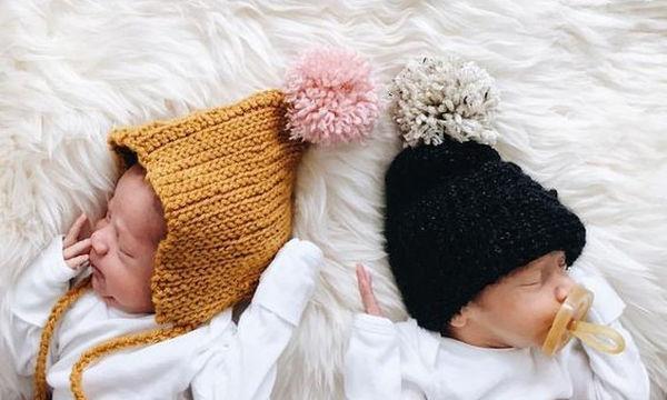 Μοναδικές φωτογραφίες με νεογέννητα δίδυμα που θα σας φτιάξουν την ημέρα