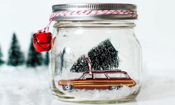 Υπέροχες 36 ιδέες για να φτιάξετε χριστουγεννιάτικα βαζάκια για τα παιδιά σας!