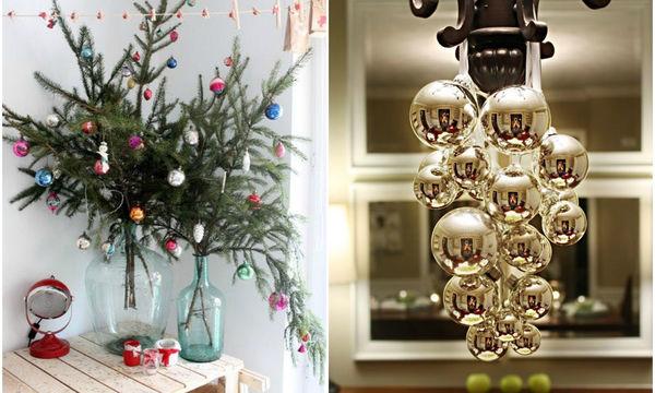 Απίθανες εναλλακτικές ιδέες, για εσάς που δεν θα στολίσετε χριστουγεννιάτικο δέντρο