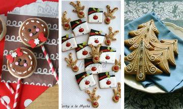 Τριάντα ιδέες για να διακοσμήσετε τα χριστουγεννιάτικα μπισκότα
