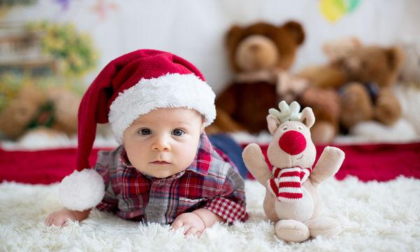 Πρώτα Χριστούγεννα με το μωρό στο σπίτι