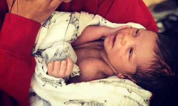 Το πιο γλυκό μωρό: Ο ηθοποιός μας συστήνει τον αξιολάτρευτο νεογέννητο γιο του