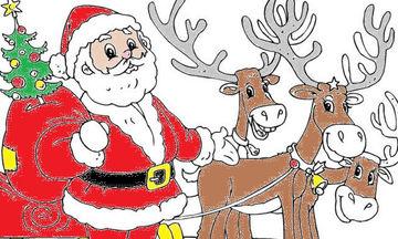 Χριστουγεννιάτικες χρωμοσελίδες για παιδιά: 60 για να εκτυπώσετε αυτή που αρέσει στο παιδί σας