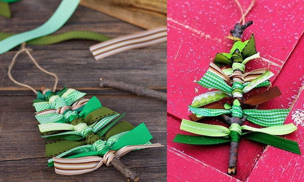 Φτιάξτε υπέροχα minimal χριστουγεννιάτικα δεντράκια με 2 μόνο υλικά