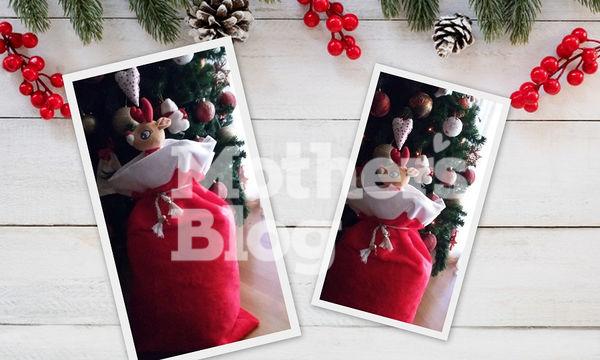 Φτιάξτε χειροποίητο γούνινο χριστουγεννιάτικο σάκο του Αϊ Βασίλη με 4 μόνο υλικά
