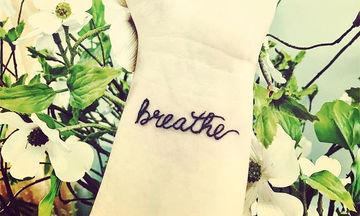 Τατουάζ αποδεικνύουν πόσο δυνατή μπορεί να είναι μία λέξη - Δείτε τα υπέροχα σχέδια