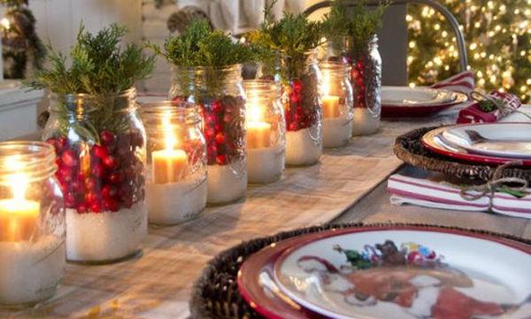 Γιορτινό τραπέζι: Ιδέες διακόσμησης για να εντυπωσιάσετε το βράδυ του ρεβεγιόν