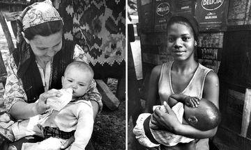 Η δύναμη της μητρότητας: Παλιές φωτογραφίες μαμάδων απ' όλο τον κόσμο που θα σας συγκινήσουν