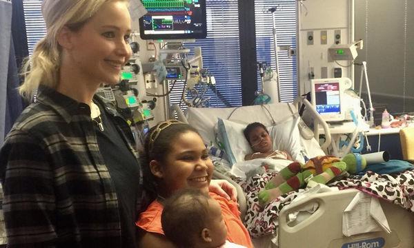 Η Jennifer Lawrence στο πλευρό άρρωστων παιδιών για ακόμη μια χρονιά