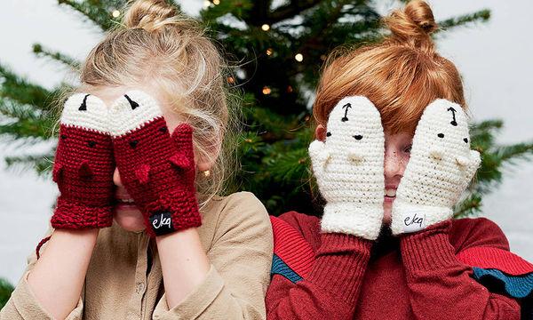 Κοριτσίστικα γαντάκια για τις κρύες μέρες του χειμώνα