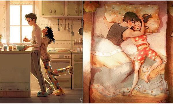 Η αγάπη κρύβεται στα μικρά πράγματα και 5 σκίτσα το αποδεικνύουν με τον πιο συγκινητικό τρόπο (pics)