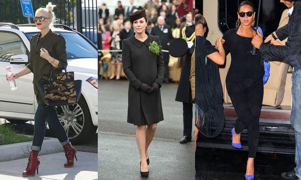 Ψηλοτάκουνα παπούτσια στην εγκυμοσύνη: Διάσημες που δεν τα αποχωρίστηκαν (pics)