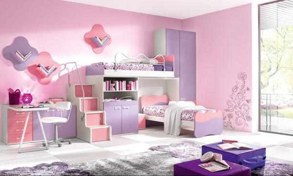 Τριάντα ιδέες για παιδικά δωμάτια με πολύ χρώμα!