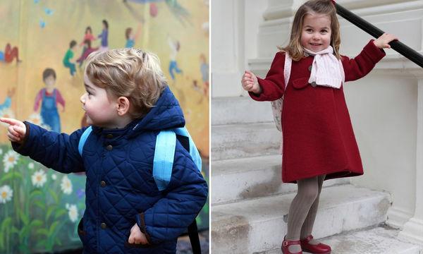 Πρίγκιπας George - Πριγκίπισσα Charlotte: Ομοιότητες και διαφορές από την πρώτη μέρα στο σχολείο