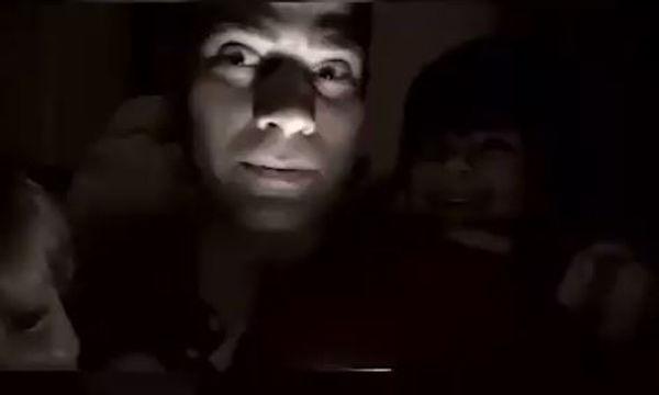 Μπαμπάς λέει τρομακτικές ιστορίες στα παιδιά του- Δείτε την αντίδρασή τους (video)